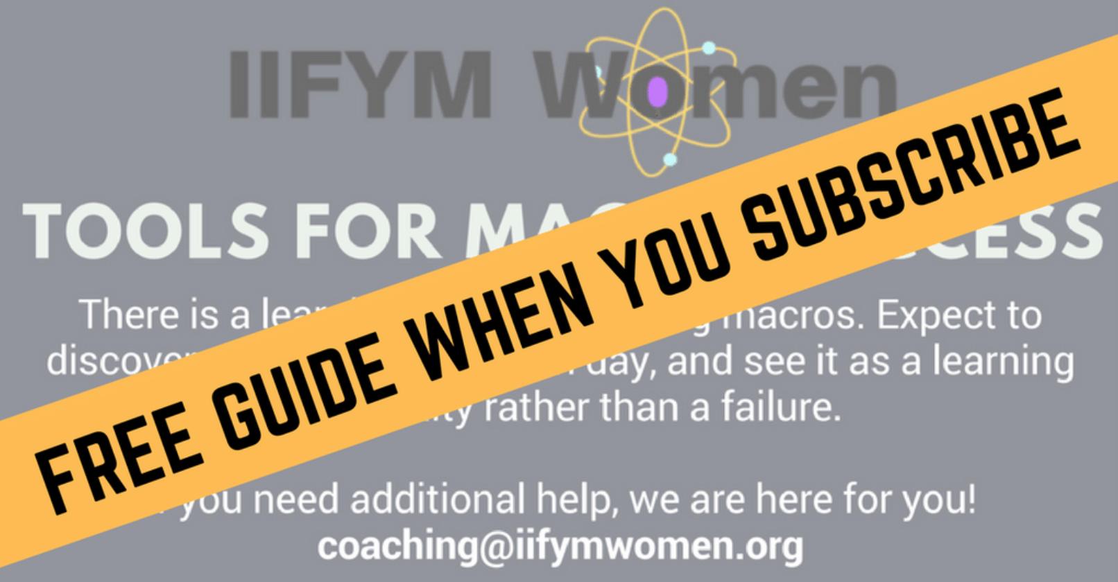Macro Calculator – IIFYM Women